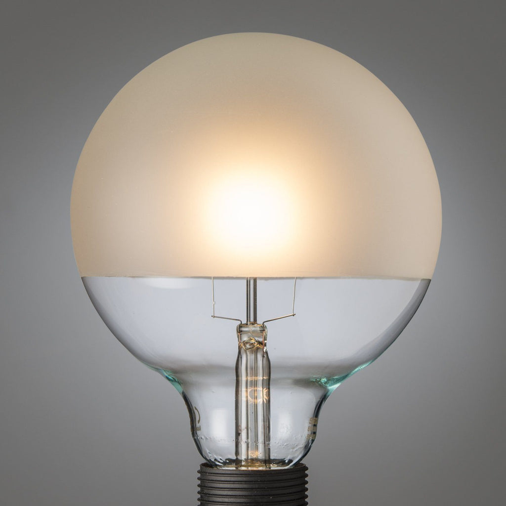 Giant Led Filament 3/4 Top Frosted Globe E27 - Edisson