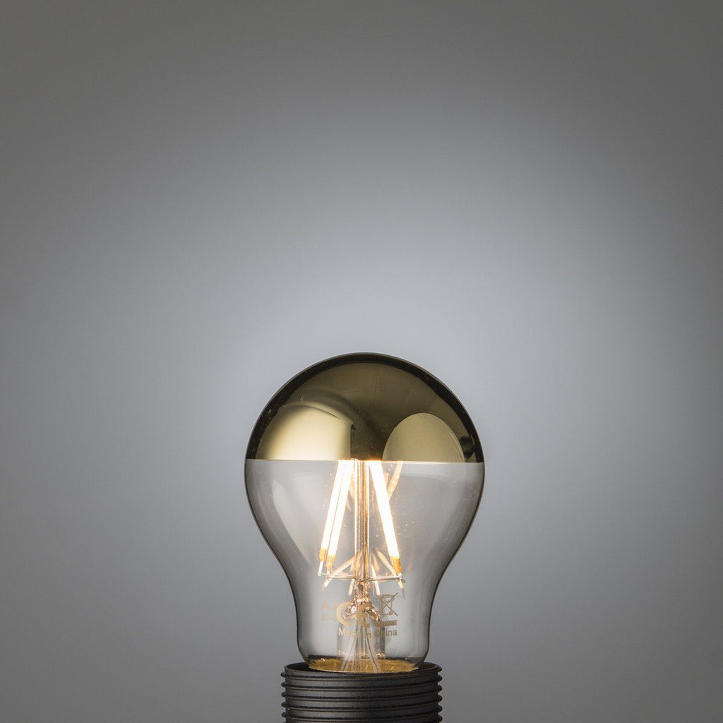 Led Filament Gold Top Bulb E27 - Edisson