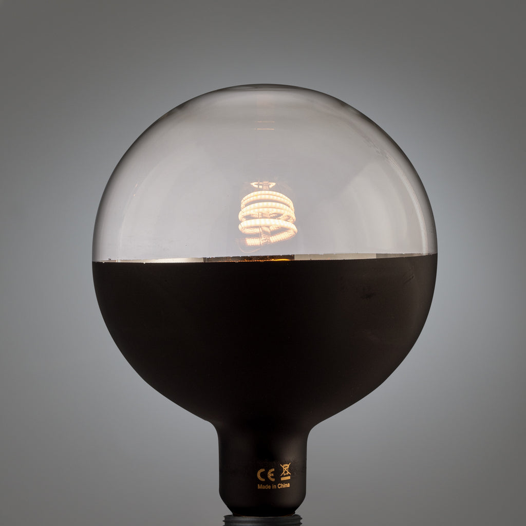 Granddad black bottom globe led glühbirne