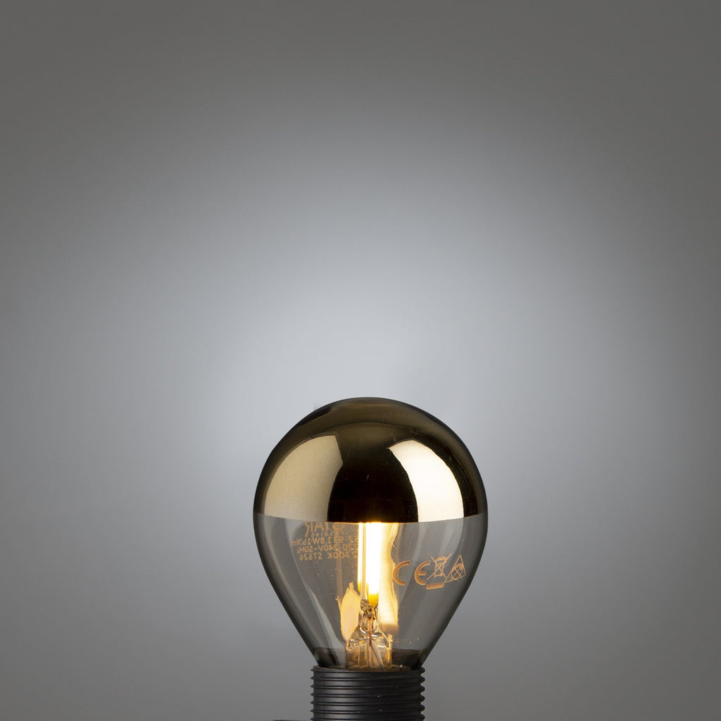 Led Filament Gold Top Ball E14 - Edisson