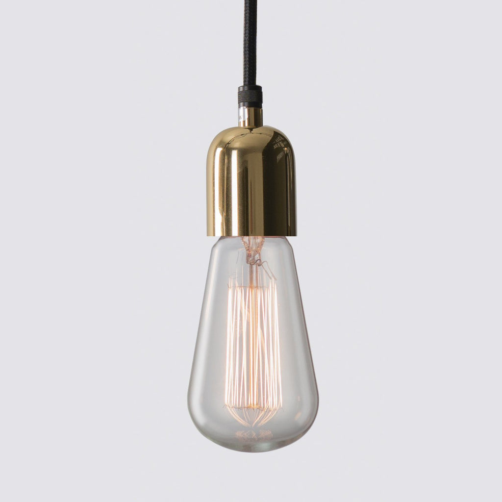Pendel-Lampe Bicolor Messing - Edisson