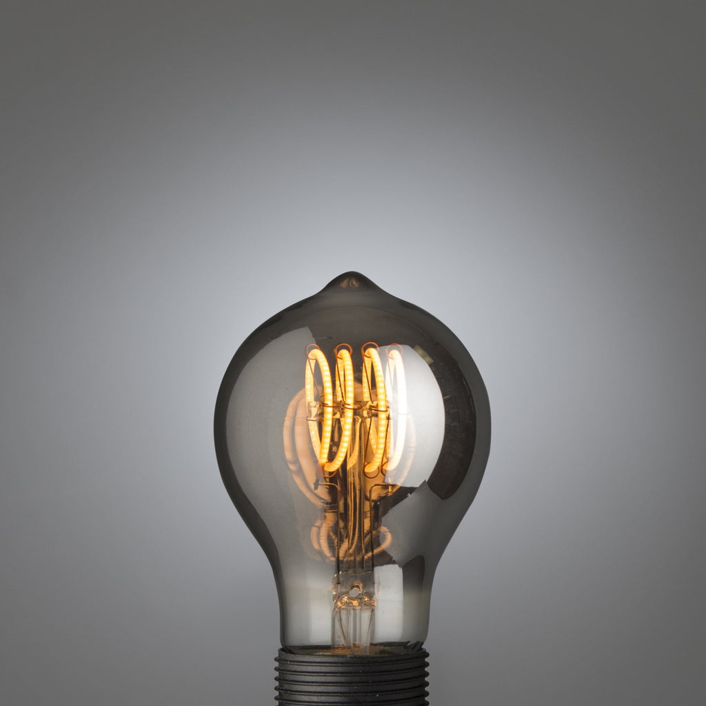 Quad Loop Led Filament Bulb Smoked - Edisson