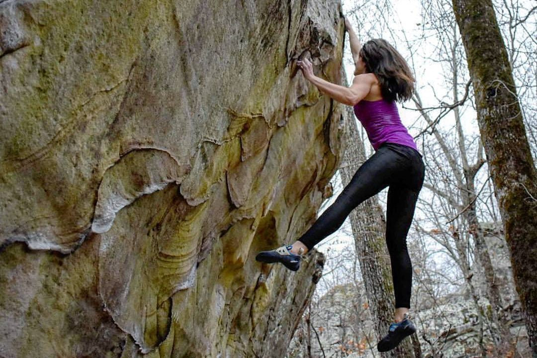 Rock Climber Megan Gallagher