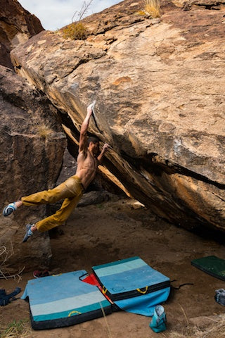 Nick Chavis full monty v12 Hueco Tanks