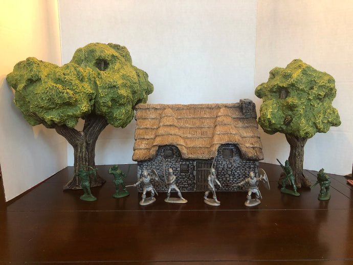Medieval Foam Accessories Now Available!  Trees, towers, and walls .....