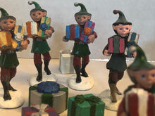 Load image into Gallery viewer, Painted Santa and His Elves (LOD009)