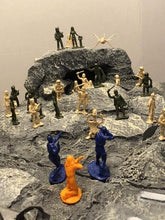 Load image into Gallery viewer, The Angry Red Planet or Moon Landscape - Outer space battlefield (foam)