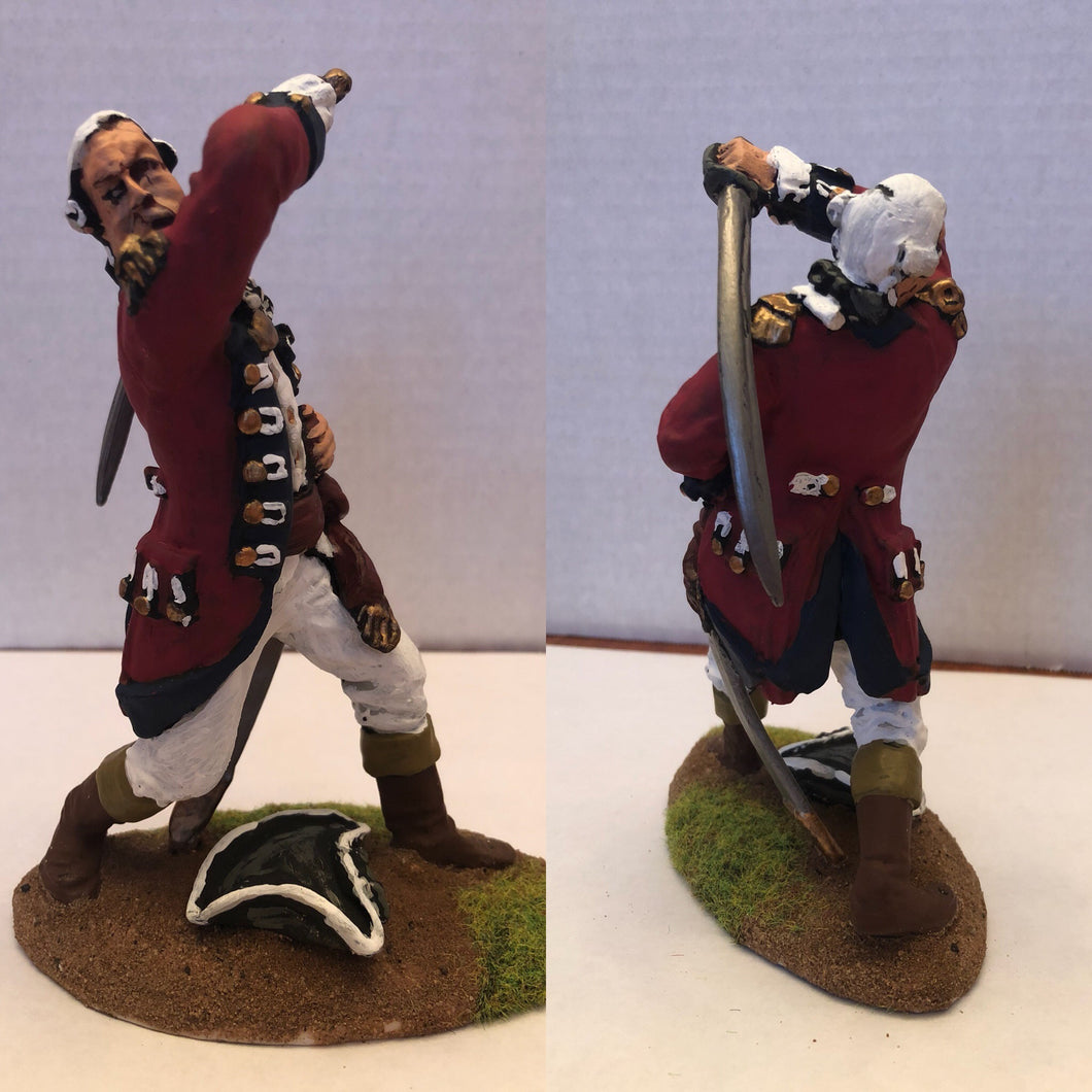 "6"" Painted British Officer"