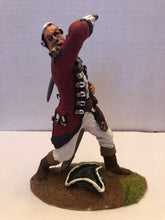 "Load image into Gallery viewer, 6"" Painted British Officer"