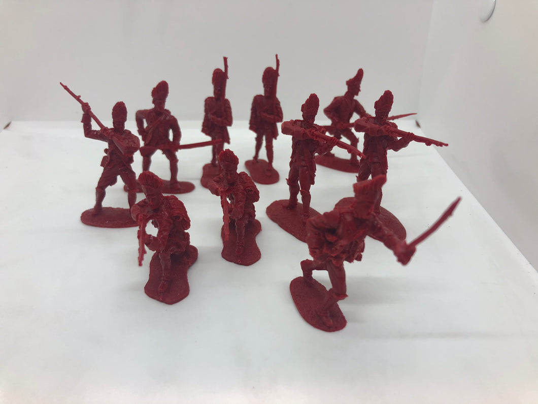 British Troops (F & I War) – Resin (LOD032)