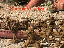 Load image into Gallery viewer, Cherokee Indian Figure Set (LOD026)