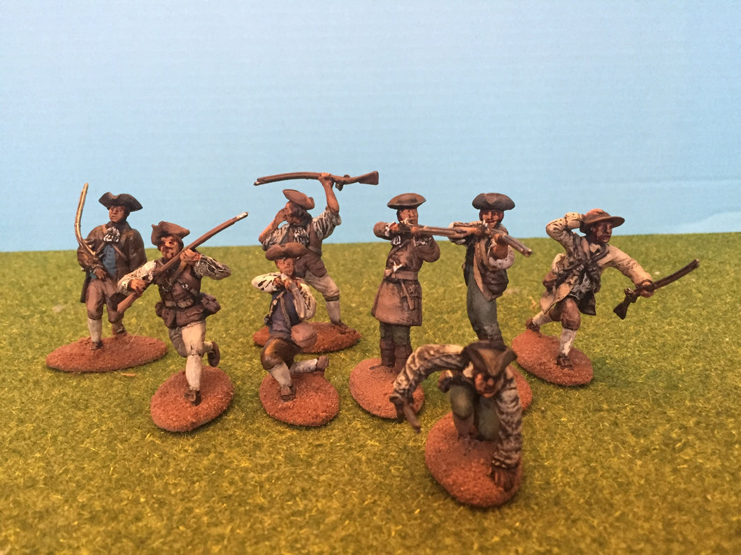 Colonial Minutemen ~ Painted