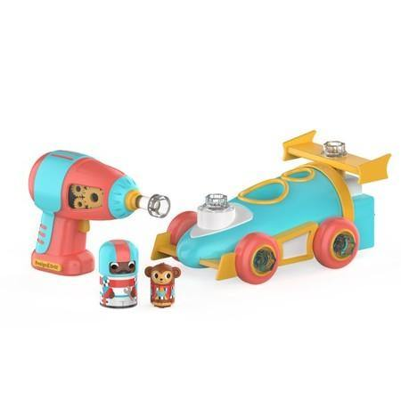 Desing & Drill Bolt Buddies Race Car - Hadas y Dragones - Tu Jugueteria educativa