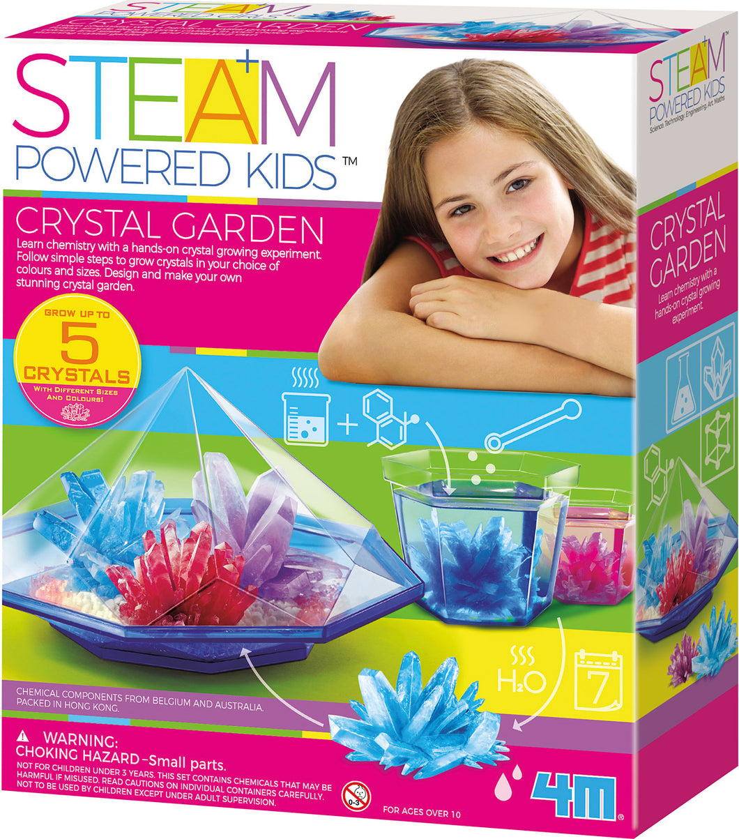 Steam Crystal Garden