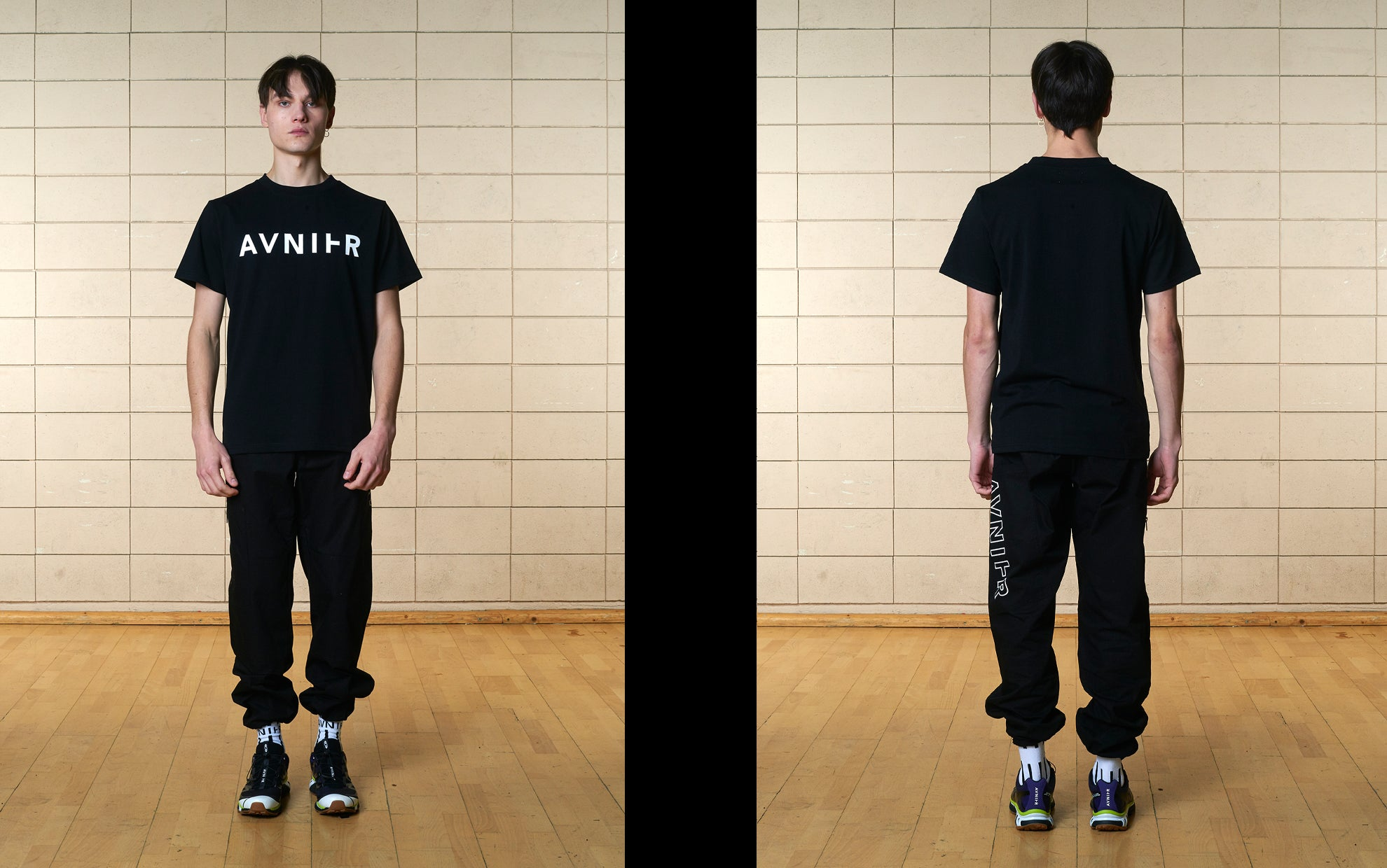 banner Basic Black Tee shirt