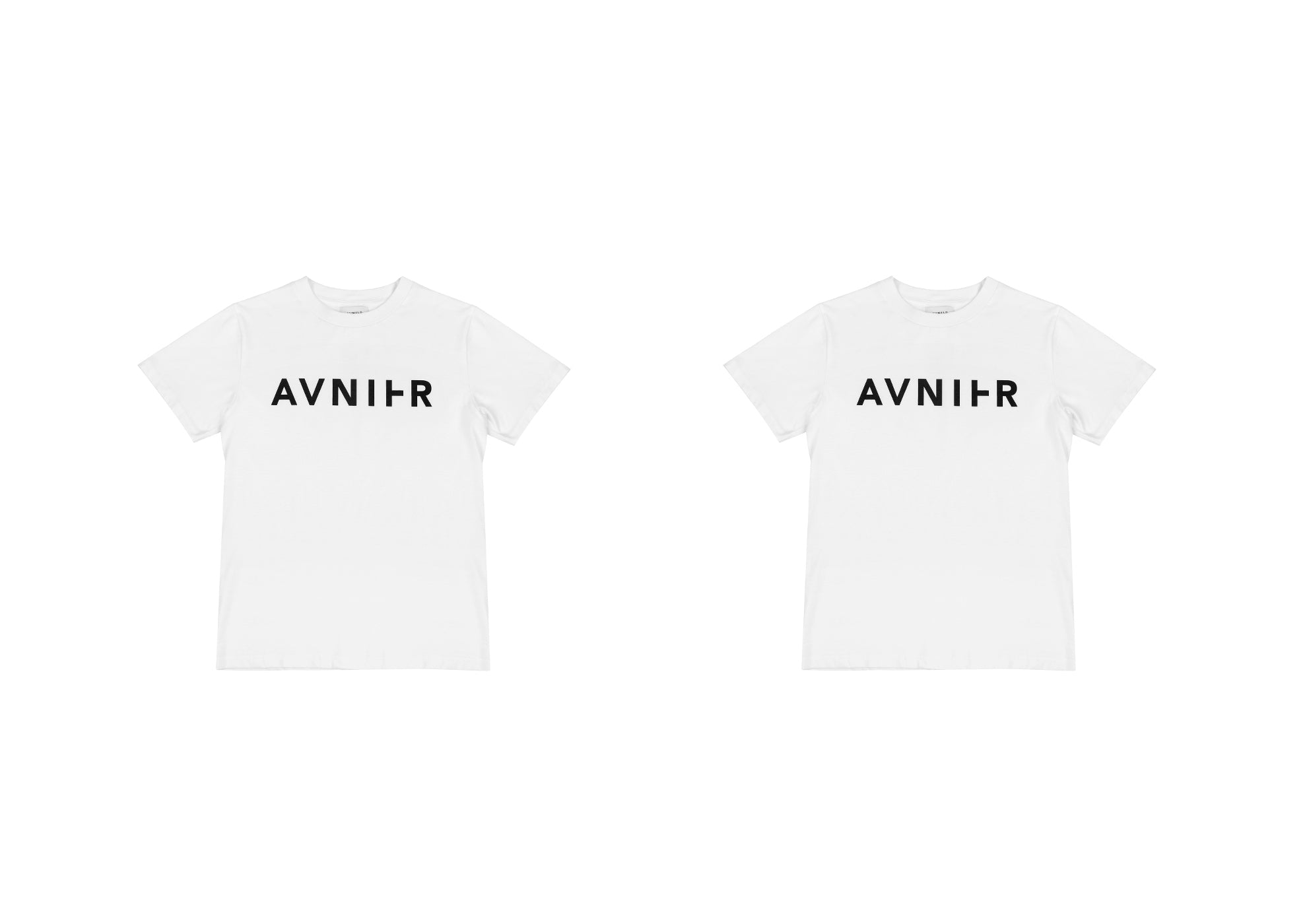 banner Basic White Tee Shirt