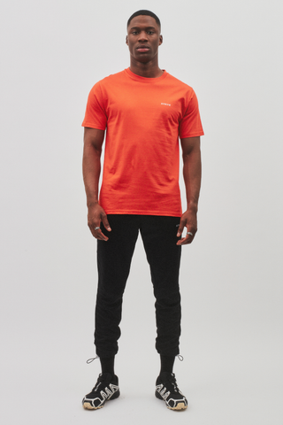 AVNIER Vertical Organic T-Shirt Toxic Orange ALPHA FW20
