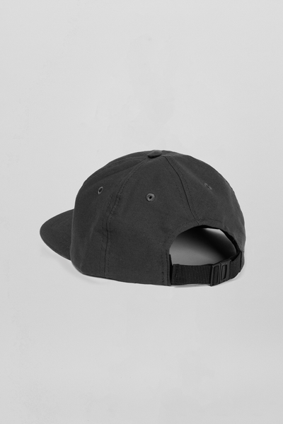 AVNIER Horizontal Organic 6 Panel Cap Black Deep space ALPHA FW20