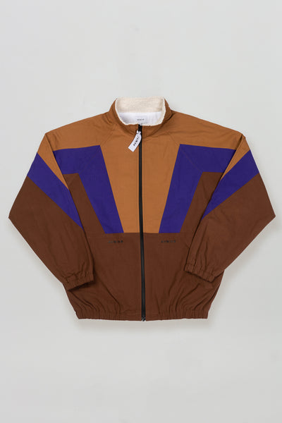 AVNIER Aposematic track top Brown Earth - ALPHA FW20