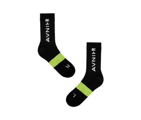 Black socks packshot