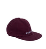 Low burgundy cap - packshot