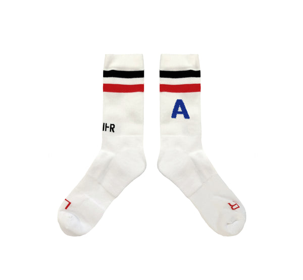 White Classical Socks<br>SOLD OUT