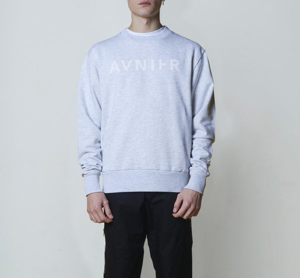 Basic Heather Grey Crewneck