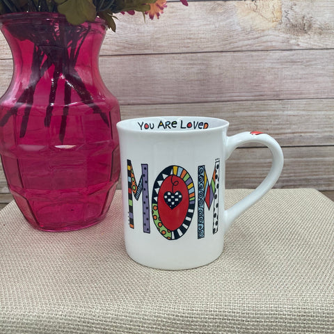 """Loved Mom"" Mug"