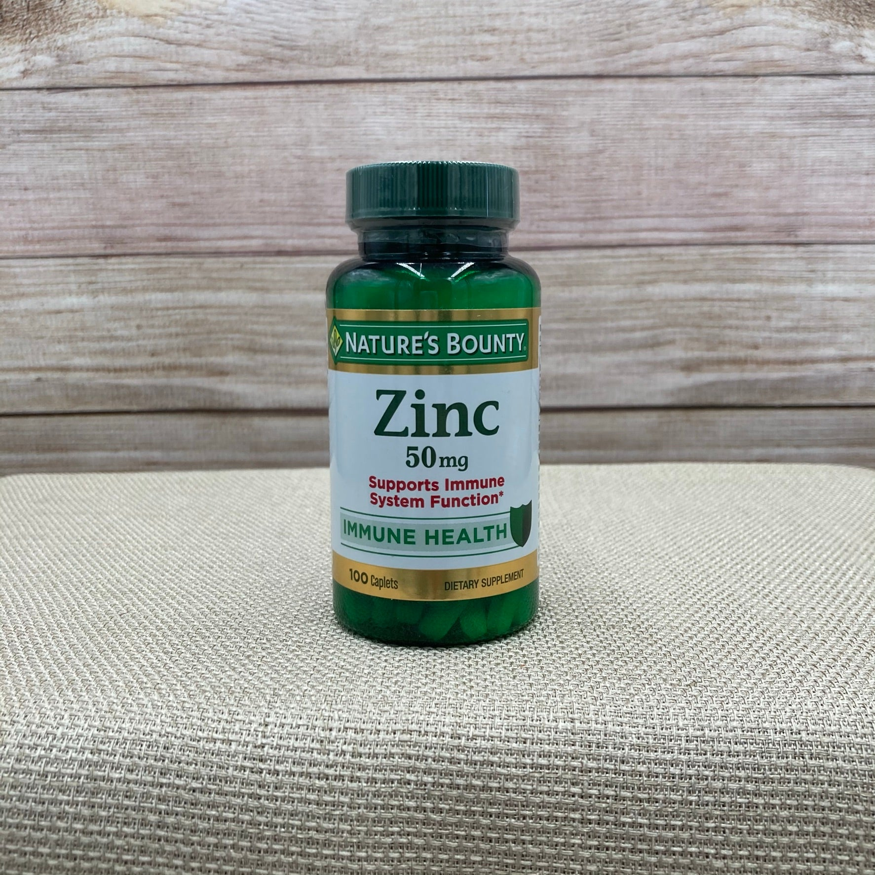 Nature's Bounty Zinc (50 mg) 100 caplets