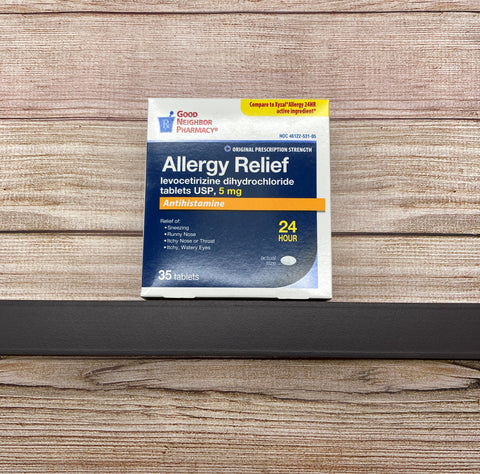 Allergy Relief Antihistamine (5 mg) 35 tablets