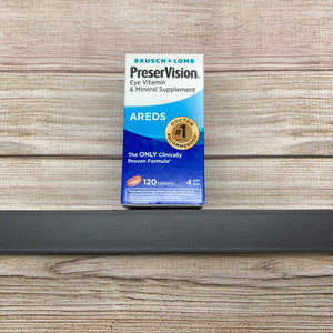 Bausch + Lomb PreserVision Areds 120 tablets