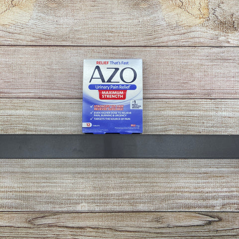 AZO Urinary Pain Relief Max Strength 12 tablets