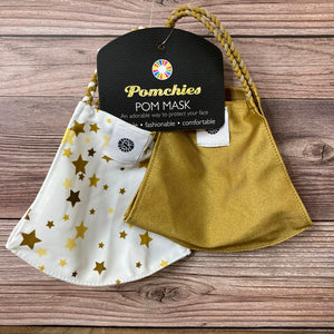 Pomchies Gold Stars Mask Set