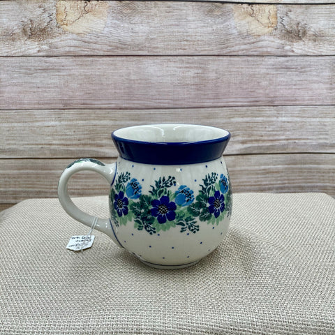 Polish Pottery 16 oz. Bubble Mug