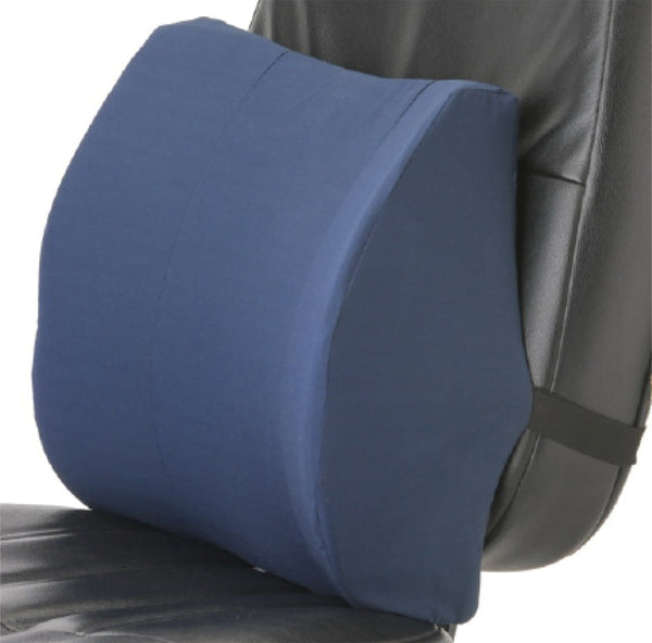 Memory Foam Lumbar Cushion - Blue