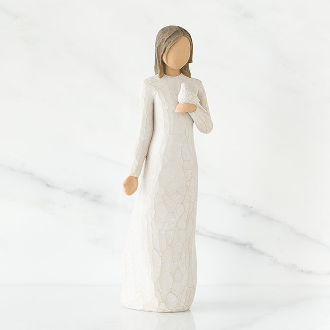 With sympathy Figurine