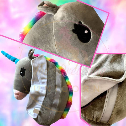 Particulars of the Car Seat Belt Unicorn pillow