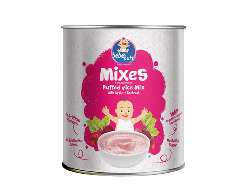 puffed rice mix for baby