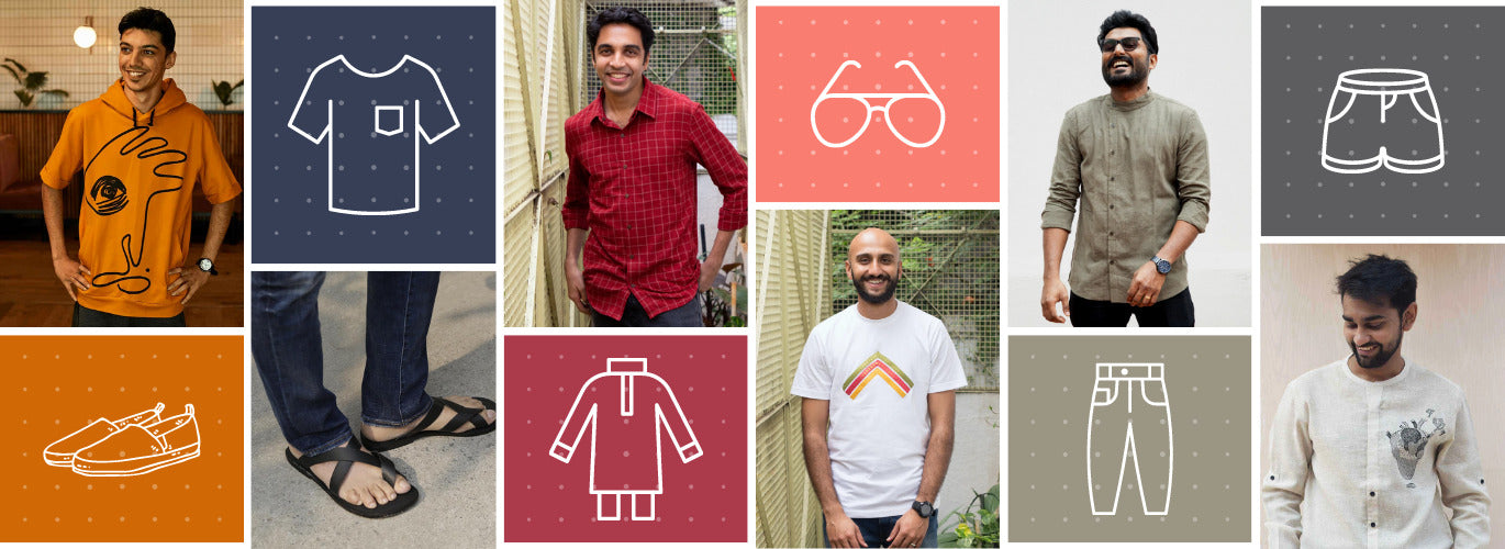 Buy from Sustainable menswear at BeKarmic