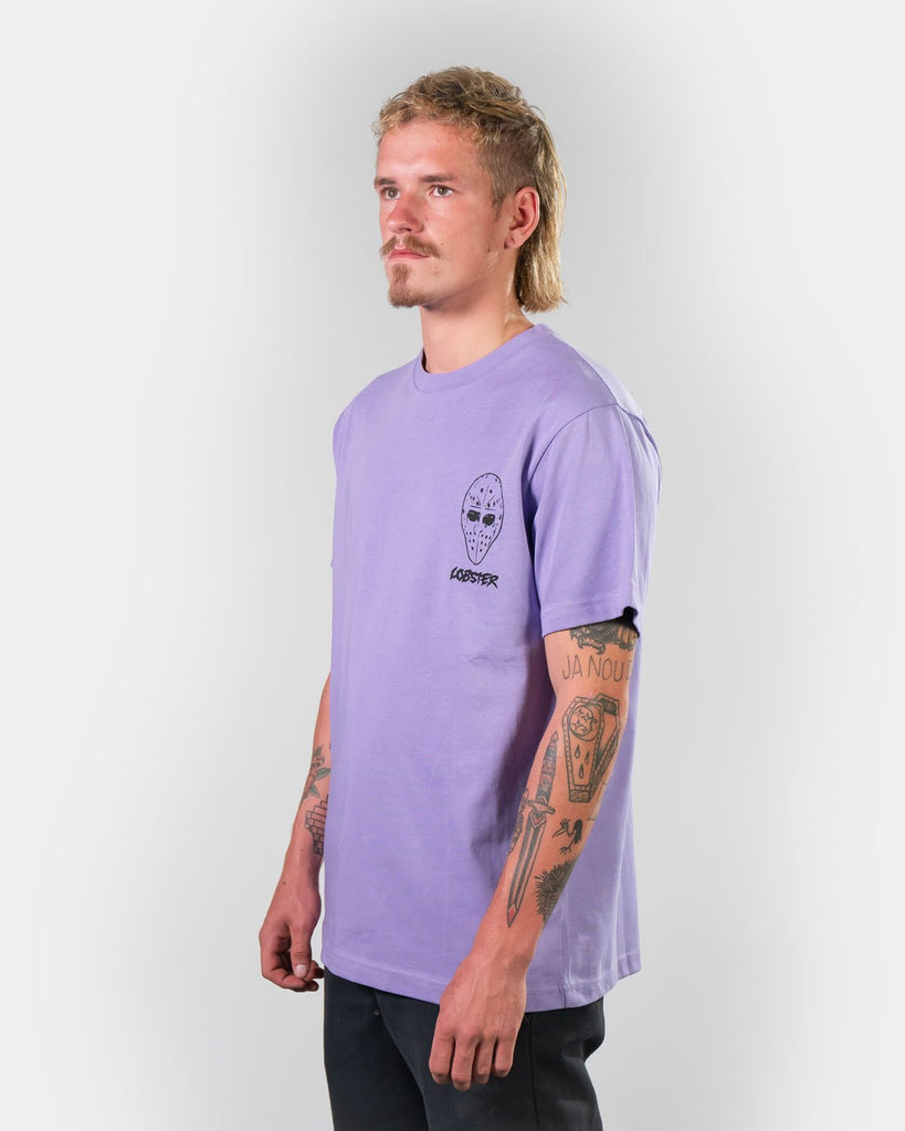 Lobster Hockey Mask purple T-Shirt