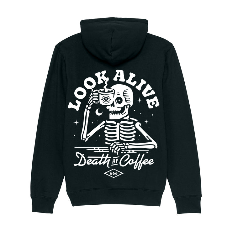 Death By Coffee - Hooded Sweater