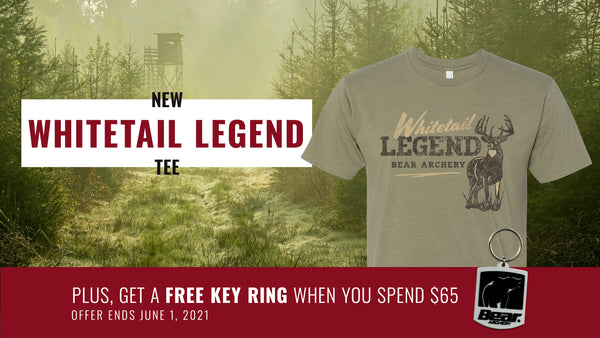 Bear Archery Gear: NEW Whitetail Legend T-Shirt