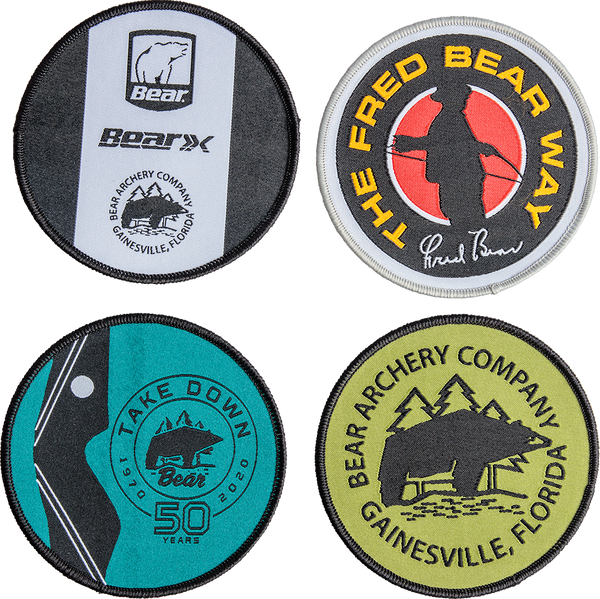 Bear Traditional Logo Patches Archery Accessories_1