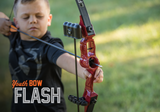 Bear Flash Bow Set - Red Traditional Bow - Youth_2