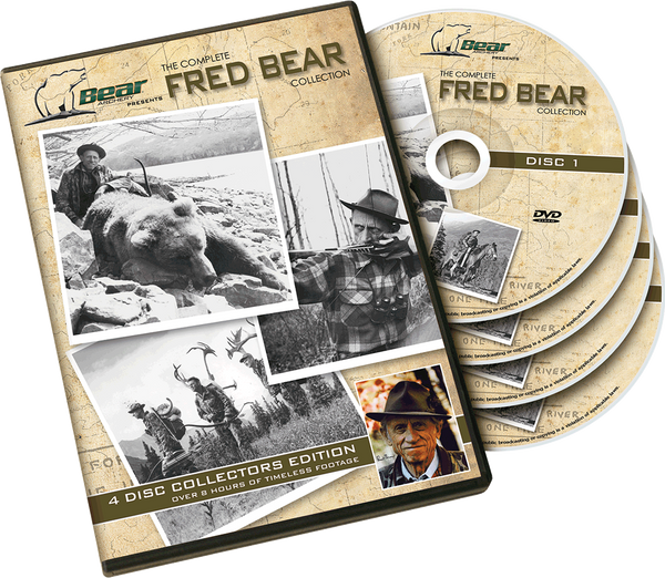 Bear Fred Bear DVD Collection Archery Accessories_1