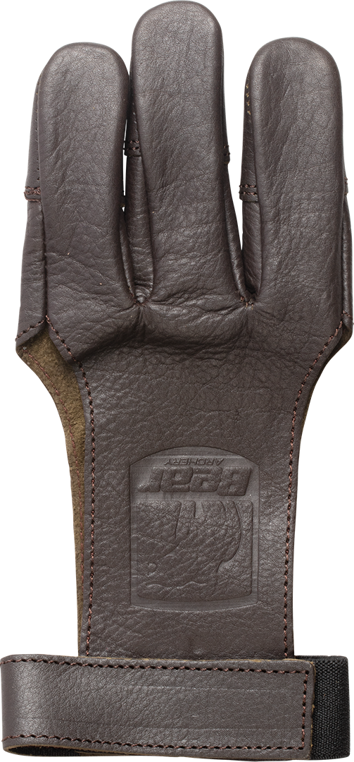 Bear Leather 3 Finger Shooting Glove, Large Shooting Glove_1
