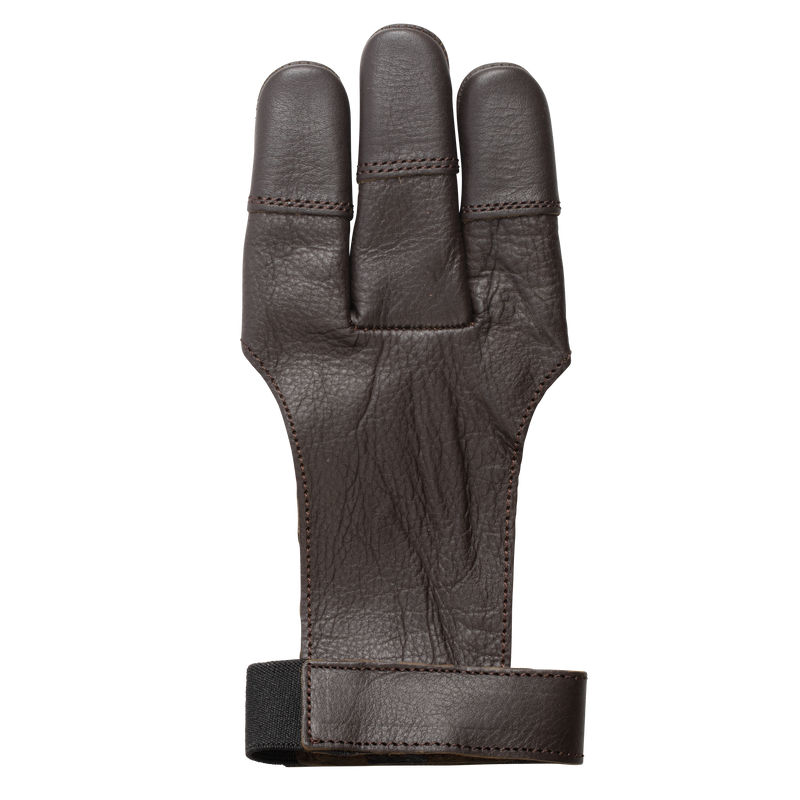 Bear Leather 3 Finger Shooting Glove, Large Shooting Glove_2