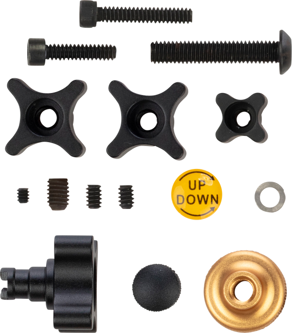 Trophy Ridge React® 1 Knob Kit Archery Accessories Replacement Parts_1