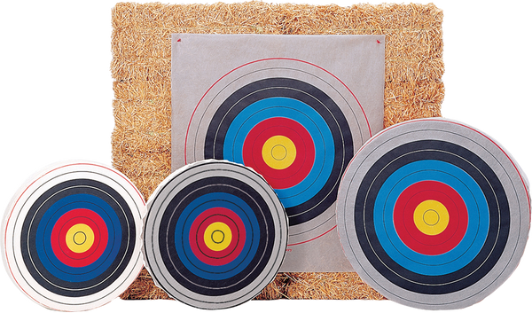 "Bear Skirted Round Target Face - 36"" Archery Target_1"