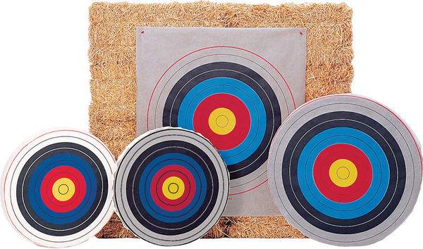 "Bear Skirted Round Target Face - 48"" Archery Target_1"